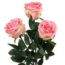 Foam rose & decorative roses