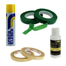 Adhesive tapes, special glues