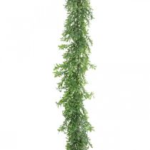 Artificial plant garland, boxwood tendril, decorative green L125cm