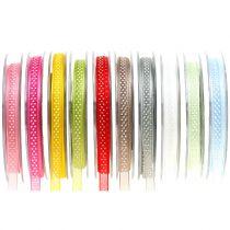 Deco ribbon with dots 7mm L20m