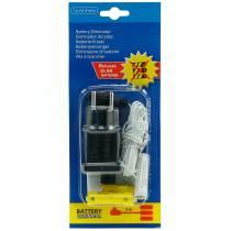 Battery adapter white 3m 4.5V 3 x AA