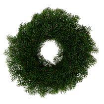 Advent wreath with fir tree Ø40cm H9cm