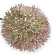 Artificial Allium silk flower green, pink ornamental onion as artificial flower