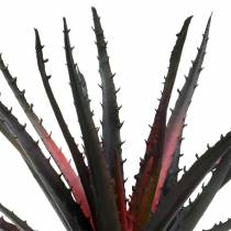 Aloe Vera Artificial Purple 26cm