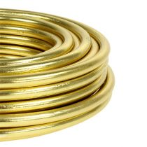 Aluminum wire 5mm 500g gold