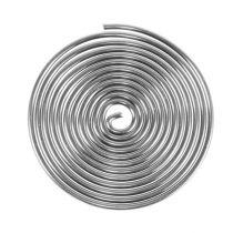 Wire screw metal screw silver 2mm 120cm 2pcs