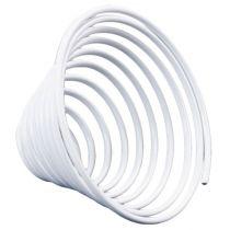 Aluminum wire screw metal screw white 2mm 120cm 2pcs