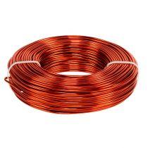 Aluminum wire Ø2mm 500g 60m orange