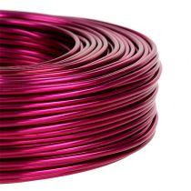 Aluminum wire Ø2mm 500g 60m pink