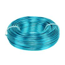 Aluminum wire Ø2mm 500g 60m turquoise