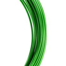 Aluminum wire 2mm 100g apple green