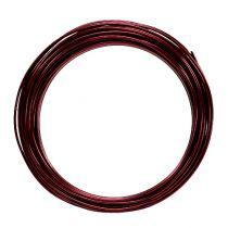 Aluminum wire 2mm 100g Bordeaux