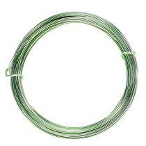 Aluminum wire 2mm 100g mint green