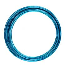 Aluminum wire 2mm 100g turquoise