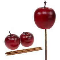 Artificial apple red Ø5.5cm 12pcs
