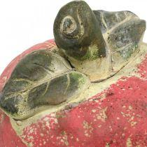 Apple for decorating, autumn, decorative fruit made of concrete, table decoration Ø13cm