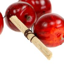 Apple garland red L 110cm