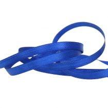 Decorative ribbon blue 6mm 50m