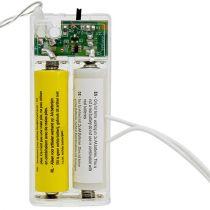 Battery adapter 3Volt 2 x AA 3m white