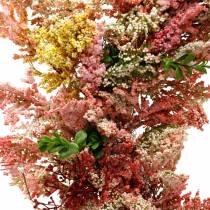 Artificial flowers wreath heather wreath pink silk flowers