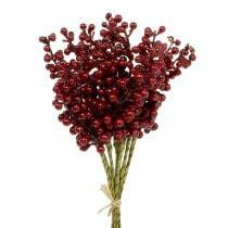 Berry pick red 23cm 12pcs