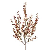 Berry branch artificial red 48cm 1p