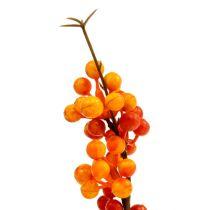 Berry branch orange L 30cm 12pcs