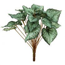 Artificial begonia bush green 30cm