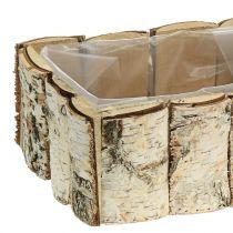 Birch plant box 2pcs