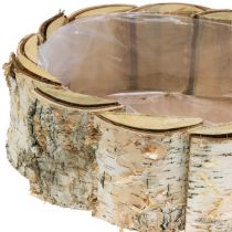 Planter oval birch 2pcs