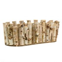 Planter bowl oval birch 30.5cm x 13cm