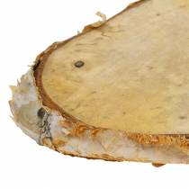 Wooden discs birch oval natural 7.5 × 13cm 1kg