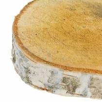 Birch slices round Ø11-13cm 12pcs