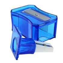 Pencil sharpener blue 6cm
