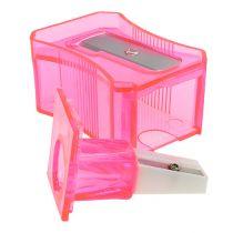Pencil sharpener pink 6cm