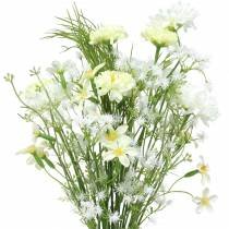 Bouquet with asters white 47cm