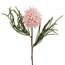 Blossom branch foam pink / green 65cm