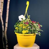 Flower basket 25cm lilac
