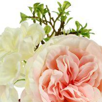 Bouquet mini pink-cream 20cm