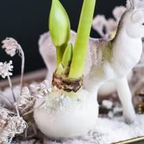 Flower dipping wax 1kg white