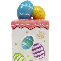 Candy jar pink Easter 13.5cm