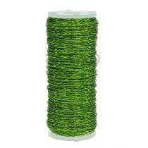 Bouillon effect wire Ø 0.30mm 100g 140m apple green