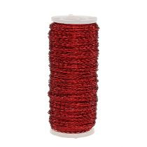 Bouillon effect wire Ø0.30mm 100g / 140m red