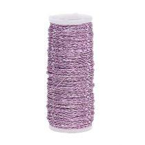 Bouillon effect wire Ø0.30mm 100g / 140m lavender