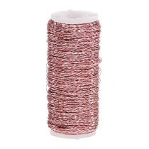 Bouillon effect wire Ø0.30mm 100g / 140m pink