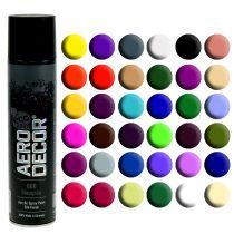 Color Spray silk matt different colors 400ml