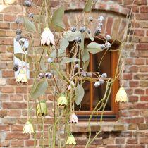 Decoration hanger metal flowers tulip 6cm 3pcs