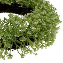 Decorative wreath green Ø25cm