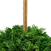 Artificial plant ball for hanging green Ø20cm