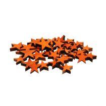 Wooden star mix orange for scattering 3-5cm 72pcs